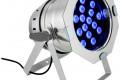 Cameo CLP64RGB3WPS Par LED 64 3W (Plateado) NUEVO