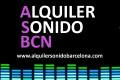 ALQUILER DE EQUIPOS DE SONIDO E ILUMINACION - BARCELONA