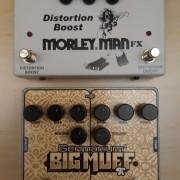 EHX Big Muff Germanium 4 y Morley Man Distortion Boost