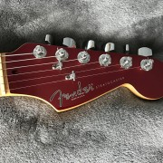 Stratocaster  Matching Headstock - Candy Apple Red