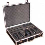"Kit de micros de batería Prodipe ""claude salmieri"" prácticamente nuevos."