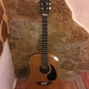 Guitarra acustica Epi D-12 de los 80s