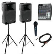 Alquiler de equipos audiovisuales. Altavoces, iluminación DJ, proyectores