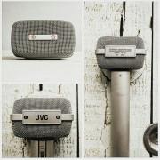 Micrófono estéreo vintage JVC M201