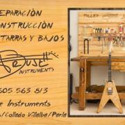 """Luthier: """"Truje Instruments"""" Las Rozas, Villalba y Parla (Madrid)"""