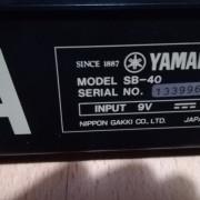 Soundboard Yamaha sb40