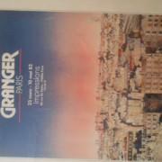 cartel de exposición de Granger. Exposición en Paris en 1983