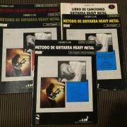 Método de Guitarra Heavy Metal . Jon Chappell - 5 Libros