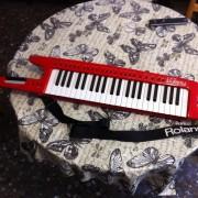 Teclado keytar roland ax 1