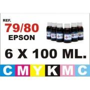 Kit cartuchos y tinta Epson photo 1500W