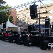 Alquilo equipo Array para sonorizar orquetas y festivales