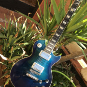 Gibson Les Paul Standard Manhattan Midnight Blue Limited Edition