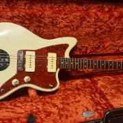 MJT Fender Jazzmaster 1963 RELIC!- EDITADO SPECS MASTIL