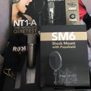 Rode NT1A+Focusrite Saffire Pro24