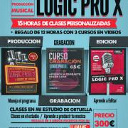 CURSO PRODUCCIÓN MUSICAL EN LOGIC PRO X ( Bilbao )