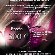 CURSO PRODUCCIÓN DE MUSICA ELECTRONICA ( Bilbao )