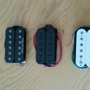 Pastillas: DiMarzio IBZ, Ibanez V7 y V8, CAP-VM1 y Powersound