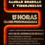 CURSO PRODUCCIÓN DE BANDAS SONORAS ( Bilbao )