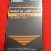 ROLAND SN U110 11 PCM DATA