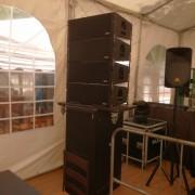 Equipo de sonido Line Array