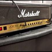 Marshall jcm 900 hi gain dual reverb + case
