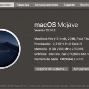 oportunidad MacBook Pro de 13 pulgadas -2018  Gris espacial