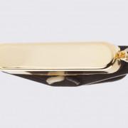 Pastilla simple con cubierta dorada