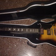 o cambio Epiphone G400 Deluxe y Marshall vs100