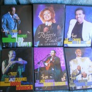 DVD's. originales conciertos cantantes de Soul en Jazz Channel