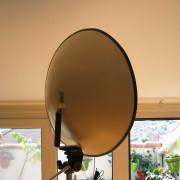 Reflector parabólico - Grabación de campo