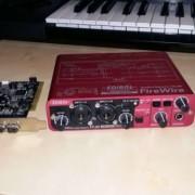 Tarjeta de Sonido EDIROL FA66 + Capturadora Firewire Chip T.I.