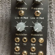 Eurorack Synamodec doble VCO lineal