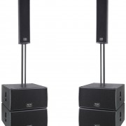 Line array + subwoofer 11200w rms activo
