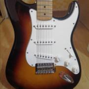 Cambio Stratocaster MIM por acústica, bajo sh o e-drums