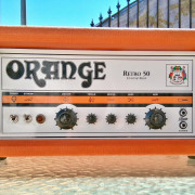 Orange Retro 50 Custom Shop CAMBIOS