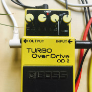 Pedal overdrive Boss OD-2