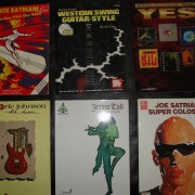 Lote 5  libros de transcripciones  guitarra Partitura, TAB+ CD