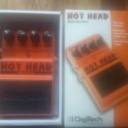 Digitech Hot Head Distortion. Como nuevo.