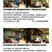 Estudio de grabacion y Produccion
