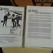 Cambiado. QUEEN THE COMPLETE WORKS Partituras y letras de todas las canciones