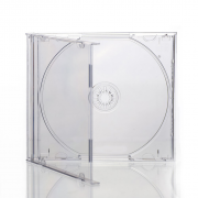Cajas de CD Jewel transparentes