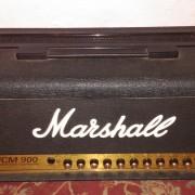 Marshall JCM 900 Cabezal + Flight Case + Pantalla
