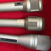 ·3 Microfonos vintage Made in Tokio JAPAN años 70 /80