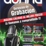 Estudio de grabación profesional 120 euros/canción