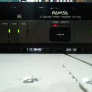AMPLIFICADOR ETAPA RAMSA WP 9100