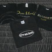 camisetas de las marcas de instrumentos musicales