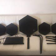 SIMMONS SDS-1000 SET COMPLETO