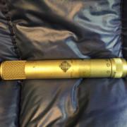 Micrófono condensador Telefunken KM56 vintage + Fuente Aliment. + Previo