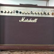 Marshall AS50D guitarra acústica y micro o segunda guitarra con pedal efectos