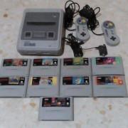Consola Super Nintendo, juegos de Super nintendo y NES